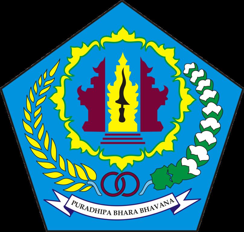 file lambang denpasar city png wikimedia commons file lambang denpasar city png