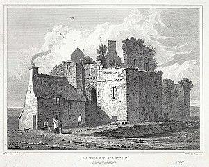 Landaff castle, Glamorganshire
