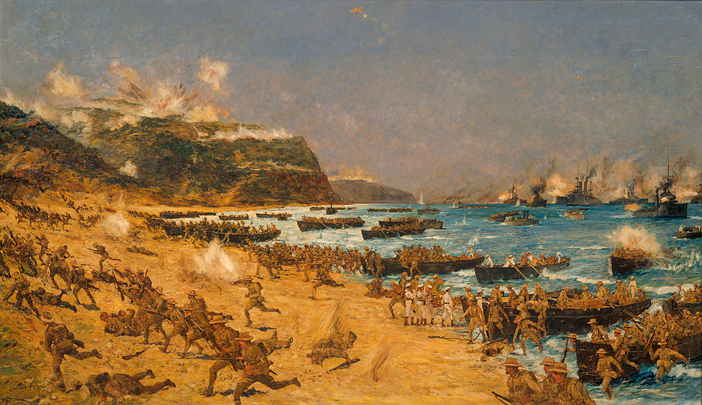 Landing at Gallipoli (13901951593)