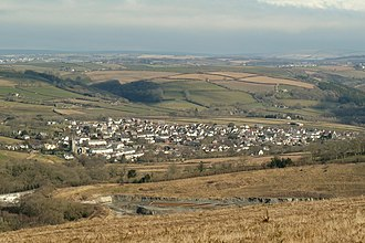 Landkey - Landkey viewed from Codden Hill