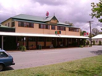 Landsborough, Queensland - Landsborough Pub, opposite the Landsborough railway station