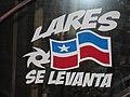 Lares Se Levanta sign, version of Puerto Rico Se Levanta slogan after Hurricane Maria.jpg
