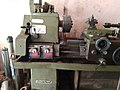 Lathe machine in Mauli Electricals, Hingoli, Maharashtra, India.jpg