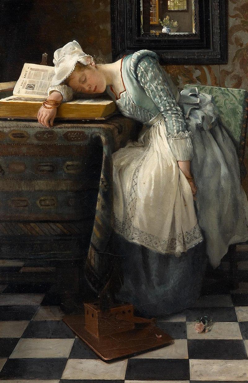 Laura Theresa Alma-Tadema - World of dreams (1876).jpg