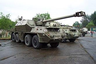 152mm SpGH DANA - 152 mm ShKH Ondava