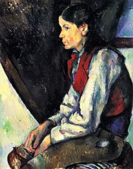 Le Garçon au gilet rouge (Boy in a Red Vest)