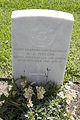 Leading Aircraftman A J Nilon gravestone in the Wagga Wagga War Cemetery.jpg