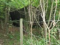 Lean-to shed found alongside footpath in Bolney Wood - geograph.org.uk - 1369176.jpg
