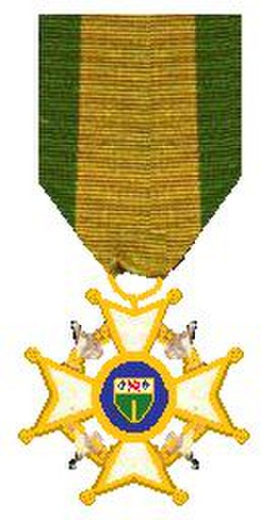 Legion of Merit (Rhodesia) - Image: Legioen van Verdienste Rhodesia 1971