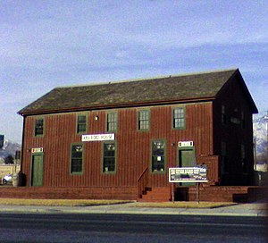 Lehi, Utah - Old Lehi Train Station on State Street
