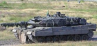 Panzerlehrbrigade 9 - Leopard 2 battle tank