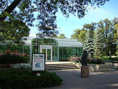 Leo Mol Sculpture Garden at Assiniboine Park Winnipeg Manitoba Canada 1 (2).JPG