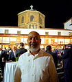 Leonardo Padura at the Reconquista Hotel after the Princess of Asturias awards 2015 ceremony 02.JPG