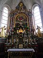 Lesachtal Wallfahrtskirche Maria Luggau Innen Hochaltar 2.JPG