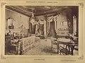 Lesencetomaj, Hertelendy-kastély, dohányzó. A felvétel 1895-1899 között készüt. - Fortepan 83320.jpg