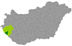 letenye térkép Letenyei járás – Wikipédia letenye térkép