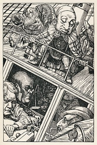 The Hunting of the Snark - Image: Lewis Carroll Henry Holiday Hunting of the Snark Plate 2