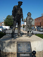 Lexington NC police statue
