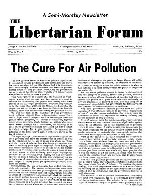 The Libertarian Forum - Image: Libertarian Forum