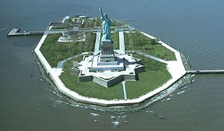 Liberty Island Island in New York Harbor in Manhattan, New York, United States
