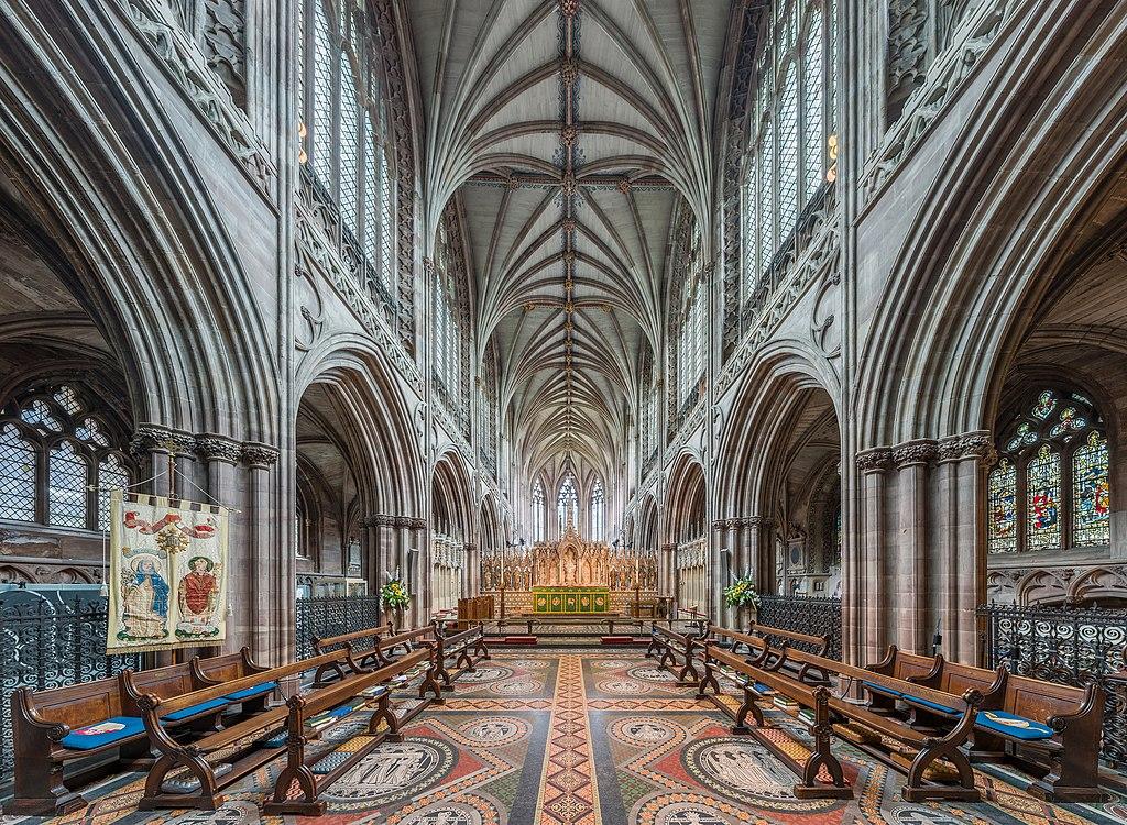 Altar Mayor de la Catedral de Lichfield