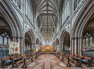Lichfield Cathedral - The high altar