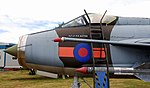 Lightning F.6 nose close-up, Coventry and Warwickshire Model Show 2017, Midland Air Museum. (35546457475).jpg