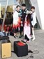 Lily Cao, Boy, Allen Hung and Nezuko Kamado taking group selfies 20201108a.jpg