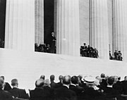 Lincoln Memorial Dedication with President Harding
