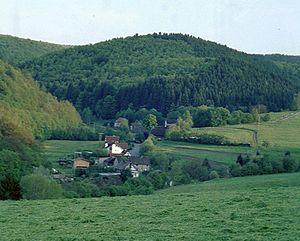 Hatzfeld - Image: Lindenhof