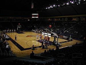 Allen Arena - Image: Lipscomb Allen Arena