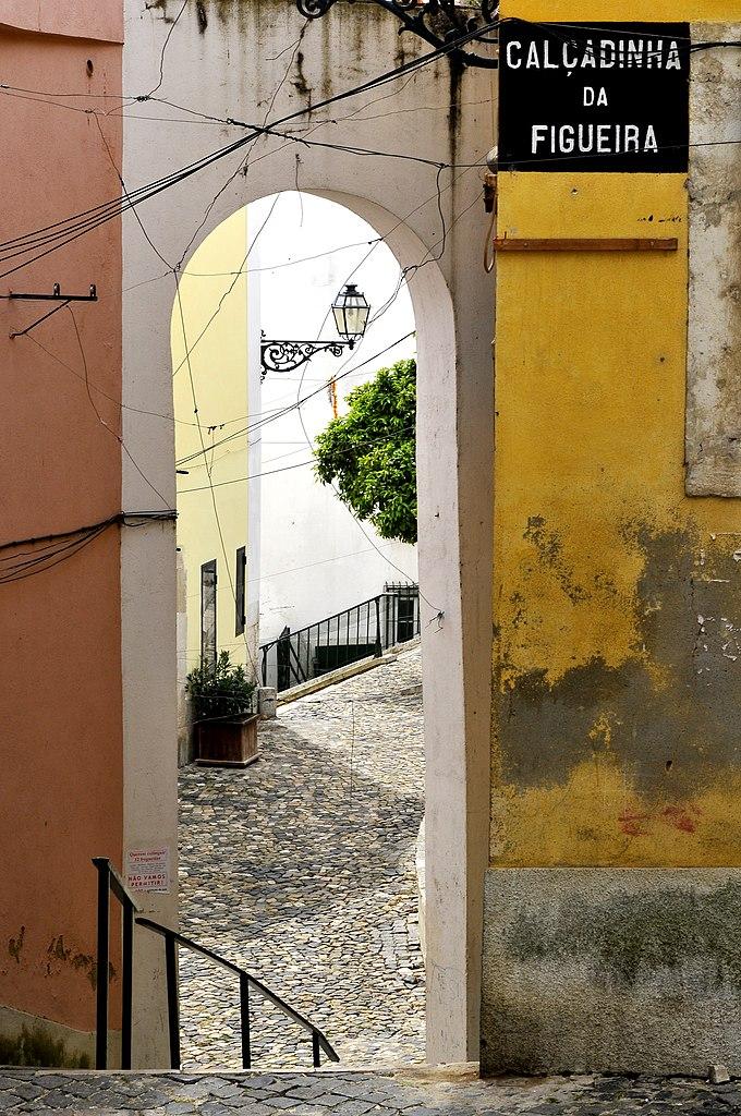 Escalier à Lisbonne - Photo de LBM1948