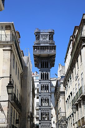 How to get to Elevador de Santa Justa with public transit - About the place