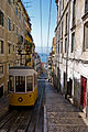 Lisbon - typical street and tramcar in the Bairro Alto.jpg