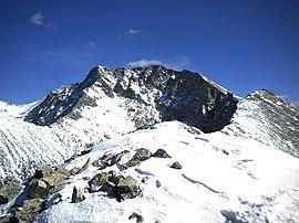 Little Bear Peak from southwest ridge, Feb 2012.JPG