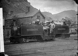 Little Wonder, Ffestiniog railway NLW3363955.jpg