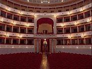 Livorno -Teatro Goldoni- interno