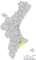 Localització de Confrides respecte del País Valencià.png