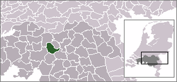 Location of Haaren