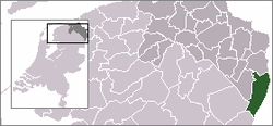 Location of Vlagtwedde