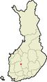 Location of Mänttä in Finland.png