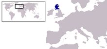 Description de l'image  Location of the Kingdom of Scotland.PNG.