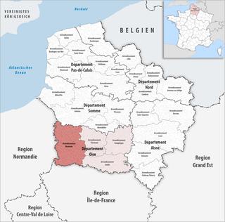 Arrondissement of Beauvais Arrondissement in Hauts-de-France, France