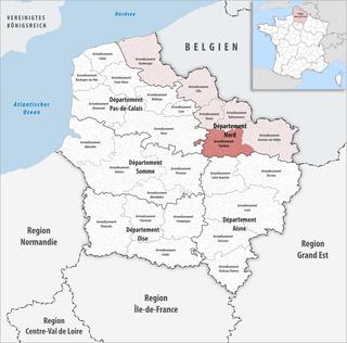 Arrondissement of Cambrai Arrondissement in Hauts-de-France, France