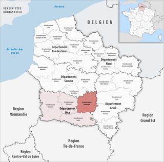 Arrondissement of Compiègne Arrondissement in Hauts-de-France, France
