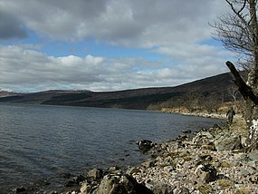 Loch Arkaig shoreline west of Achnasaul - geograph.org.uk - 765786.jpg