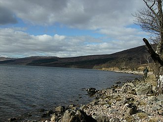 Ardechive - Image: Loch Arkaig shoreline west of Achnasaul geograph.org.uk 765786