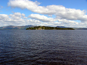 Inchmurrin - View of Inchmurrin