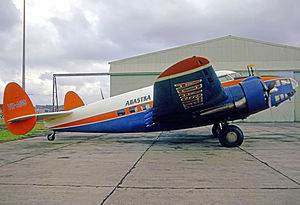 Lockheed Hudson - Hudson III, ex RAAF, operated by Adastra Aerial Surveys 1953–1972