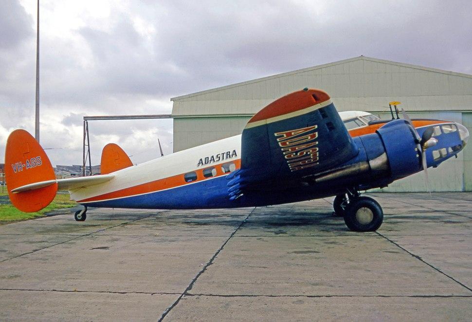 Lockheed L-414 VH-AGS Adastra SYD 09.04.71 edited-2